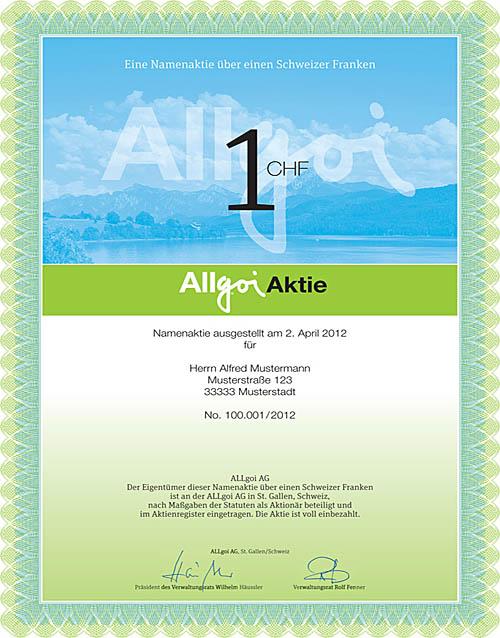 Allgoi-Aktie